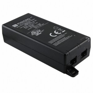 (Power Over Ethernet) POE Injector | Phihong 30W (Angle View)