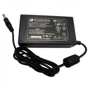 Starmen 12V Power Supply w/ cord (2.1mm Pin)
