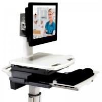 "ADITI 22"" All-In-One Quad Core Flat Screen Mobile Computer for Medcarts (TL2640LIB) - Front Angle"