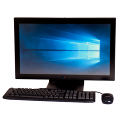 All-In-One Quad Core pCAP Touch Flat Screen POE Computer (TL2640P) - Front