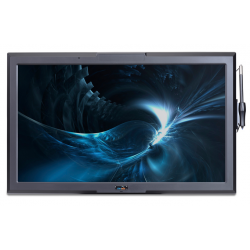 """HELIOS 19"""" All-In-One Quad Core Projected Capacitive (pCAP) Touch Computer / Thin Client (Angle View)"""